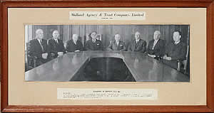 The management of the Midland Agency & Trust Co Ltd in the Centenary year - 1964