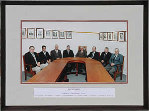 The Midboard board of directors - 2005